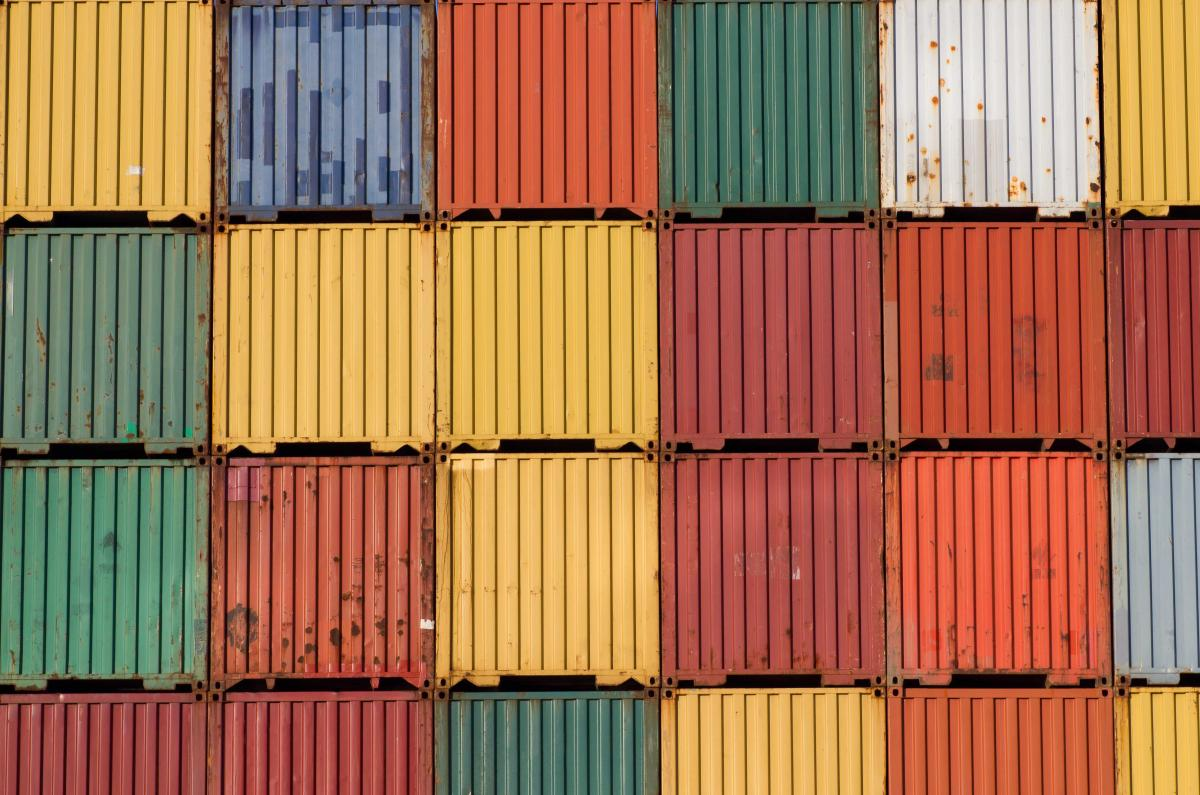 Containers of Many Colors
