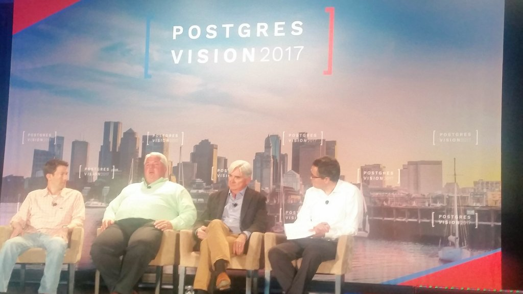 Opening Day for Postgres Vision 2017