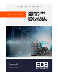 5 Questions to Ask When Designing Highly Available Databases Cover