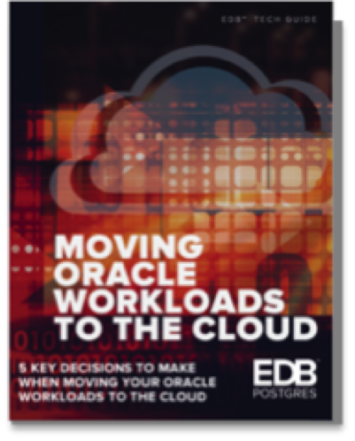 Moving Oracle to the Cloud