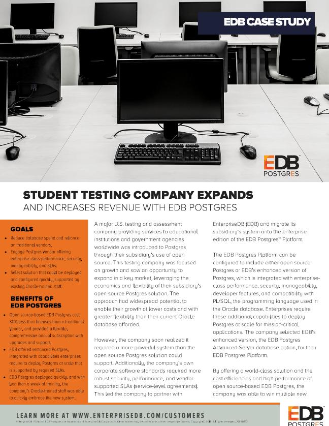Student Testing Case Study