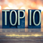 Top 10 Blog Posts for 2019